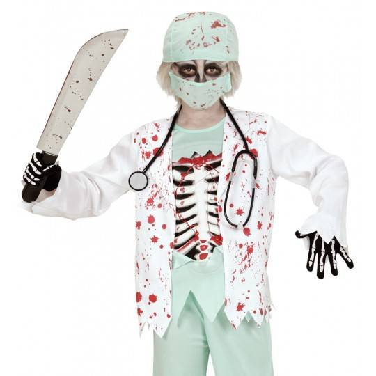 Doctor zombie costume 5-13 years