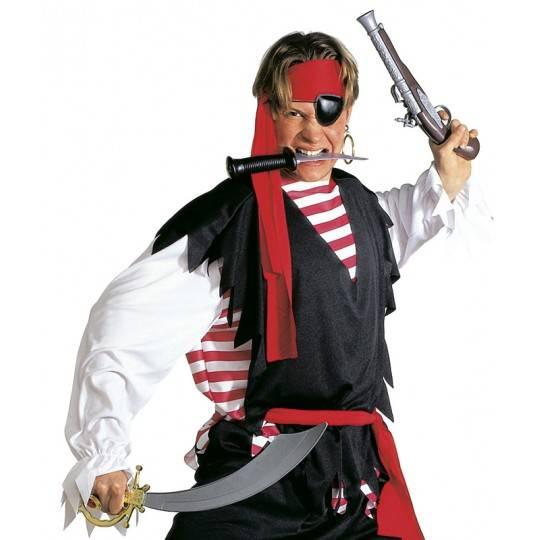 Pistola pirata antica
