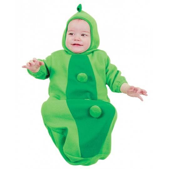 Costume Pisellino 0-9 mesi