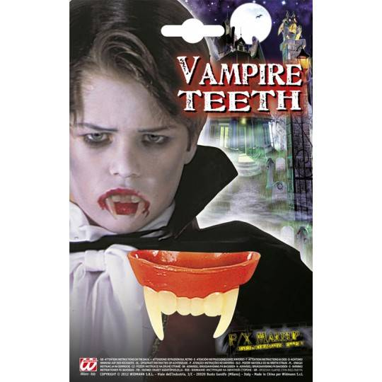 Kid vampire teeth