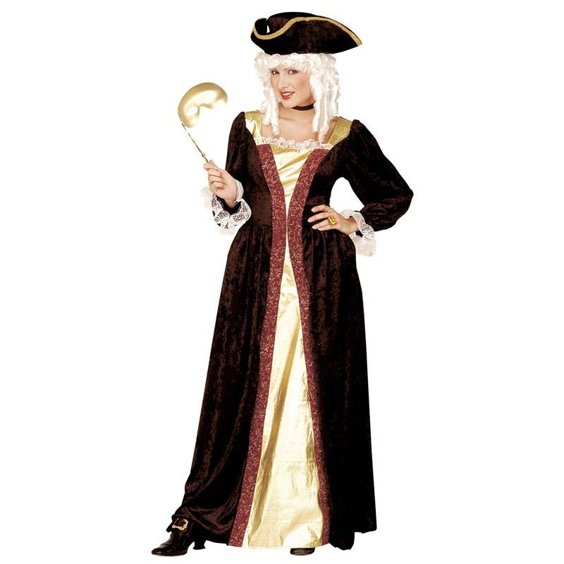 Venetian noblewoman costume for women