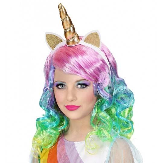 Parrucca unicorno