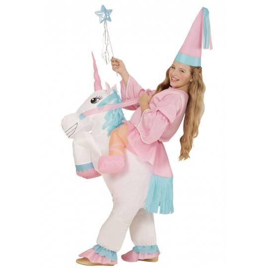 Costume gonfable d'unicorne