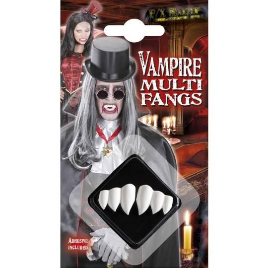 Multidenti vampiro per adulto