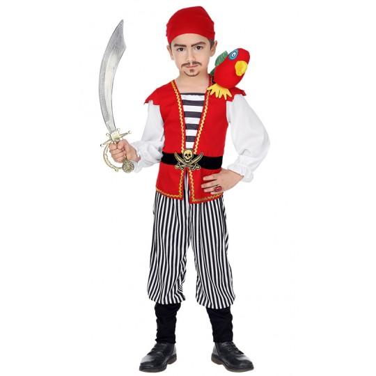 Pirate costume 2-5 years