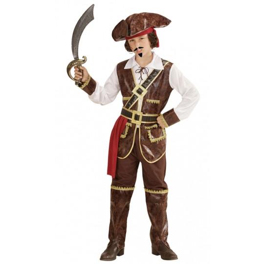 Costume Capitano Pirata dei Caraibi 4-13 anni