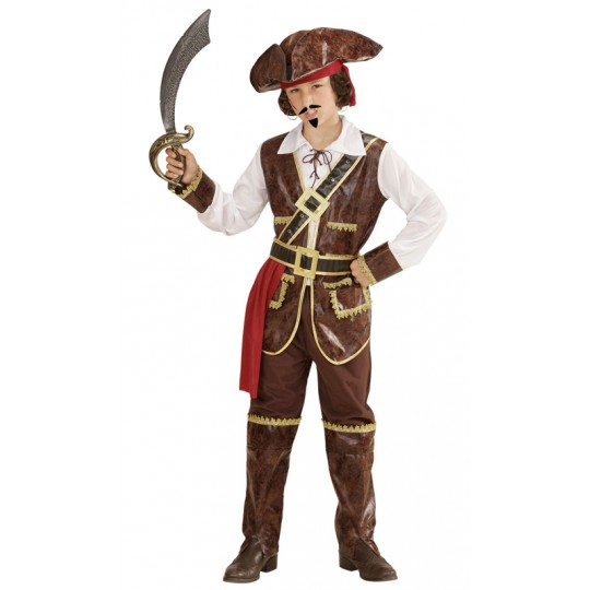 Pirates captain of the Caribbean costume 4-13 years