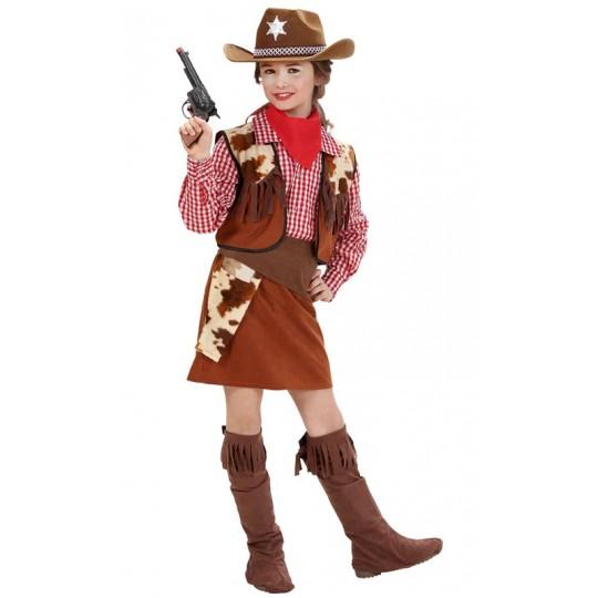 Costume Cowgirl 5-13 anni