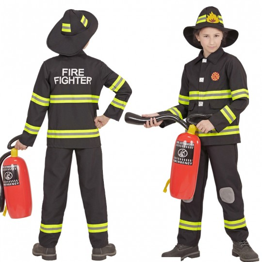 Fireman costume 4-13 years