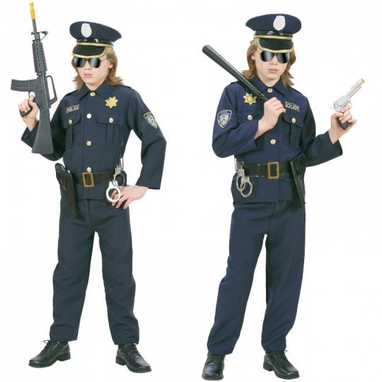 Costume Poliziotto 4-13 anni