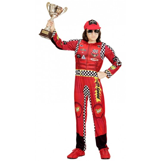 Formula 1 pilot costume 4-13 years