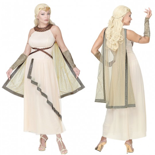 Greco-Roman goddess costume for women