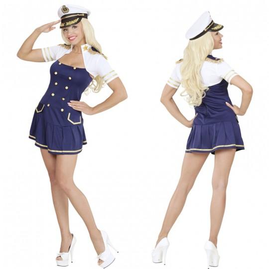 Costume donna Capitano di Marina
