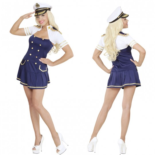 Sea Captain costume for women