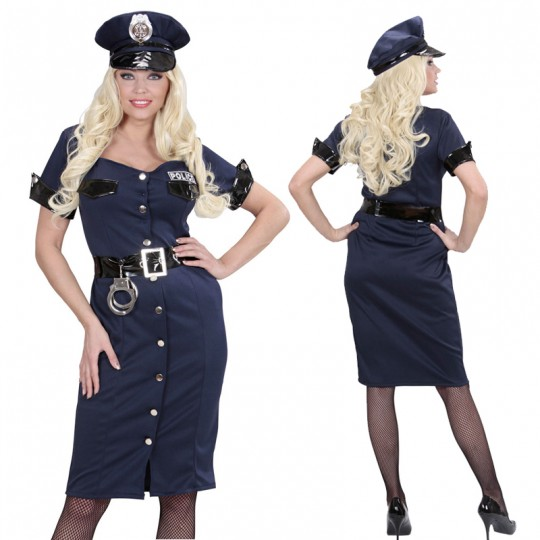 Policewoman costume for women