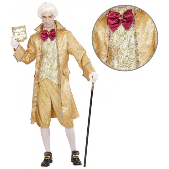 Venetian nobleman costume for men