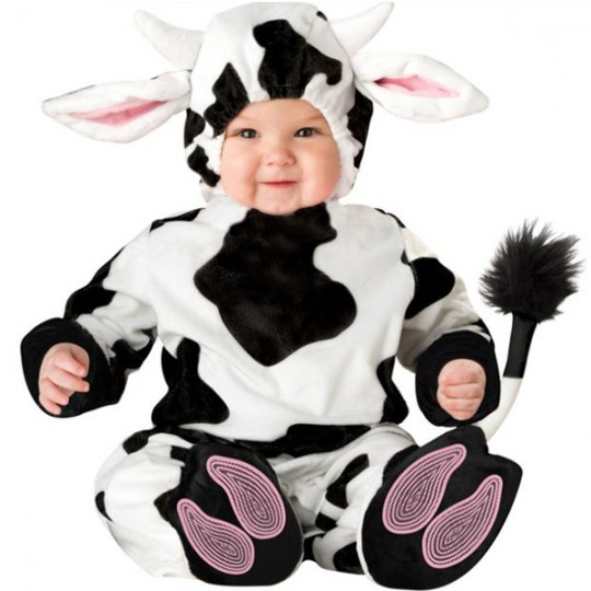 Carnival Baby Costume Cow 3 years