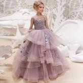 Flower girl formal dress 100-160cm