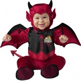 Incharacter Carnival Baby Costume Little Devil 0-24 months