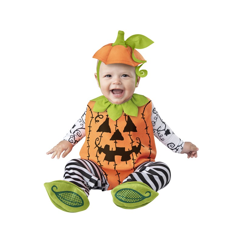 Incharacter Carnival and Halloween Costume Baby O'Lantern 0-24 months
