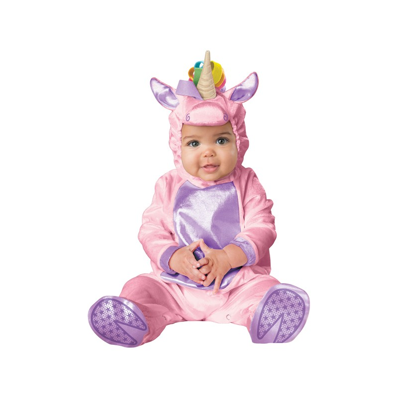 Incharacter Carnival Baby Costume Pink Unicorn 0-24 months