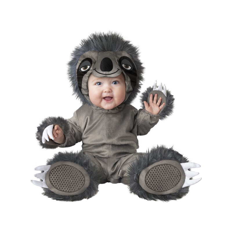 7497b0b773947 Incharacter Carnival Baby Costume Silly Sloth 0-24 months - PartyLook