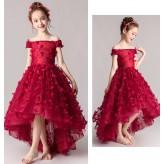 Flower girl ceremony formal dress 100-160cm