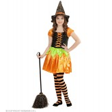 Pumpkin Witch Costume 4-13 years