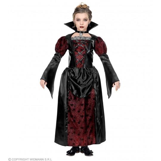 Lady Vampire Costume 5-13 years