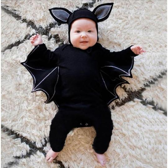 Costume Halloween de chauve-souris pour petit enfant