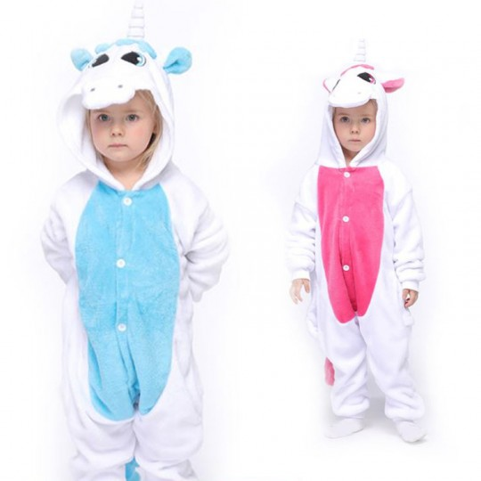 Unicorn Costume Pyjamas 3-12 years