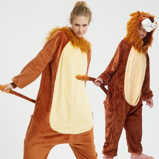 Lion Costume Pyjamas 6-12 years