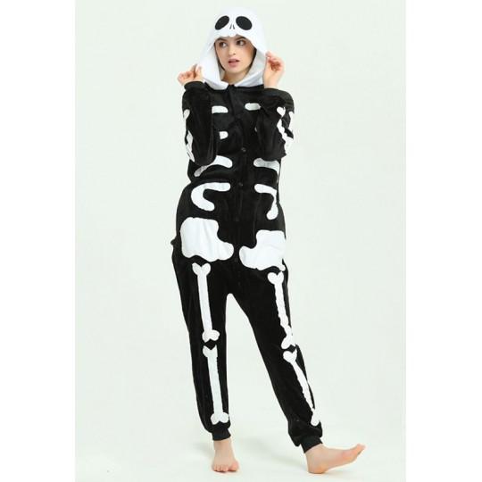 Skeleton Cosplay Costume Pyjamas for adults