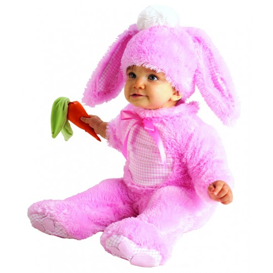 Baby Costume Pink Bunny 0-24 months