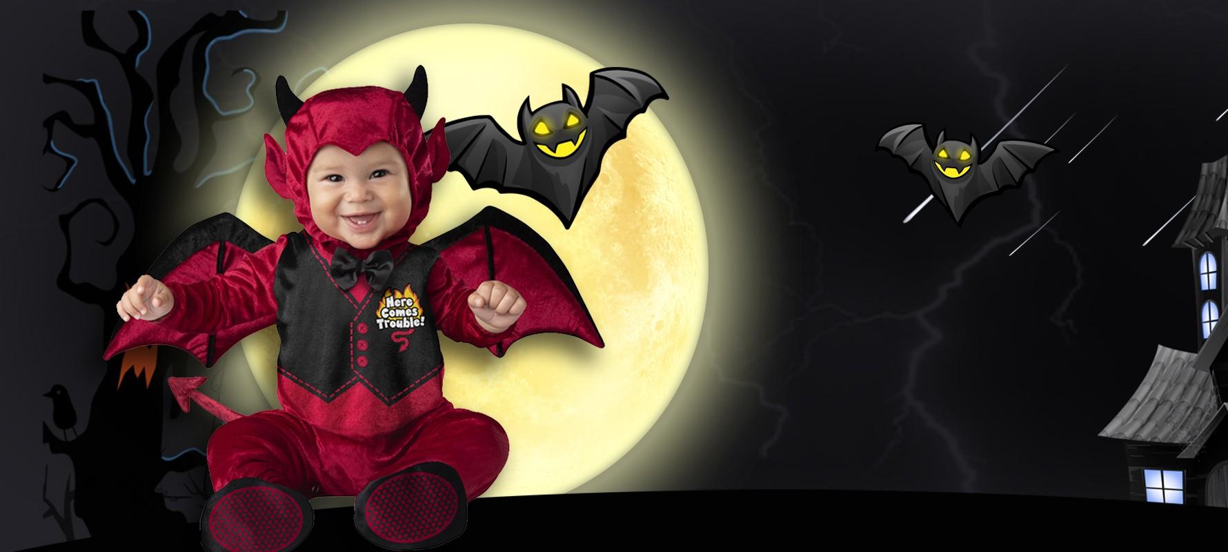Costumes d'halloween pour bébés 0-24 mois